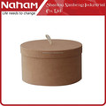 NAHAM home organizer Jewelry box toy box Round Storage Box