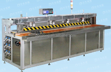 pvc fabric advertising banner roller blind welding machine automatic butt fold edge welding