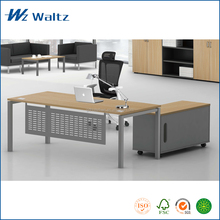 Luxury office furniture supplier 25mm MDF/MFC panel manager desk wood office executive table