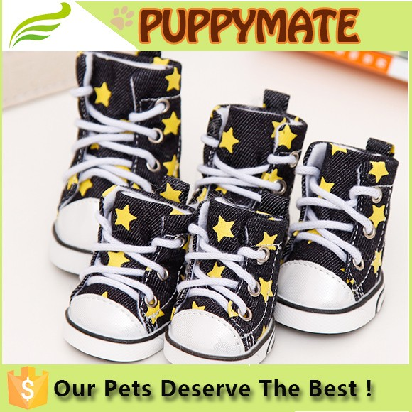 Perfect in workmanship hot sale dog shoes high quality dog boots converse dog shoes