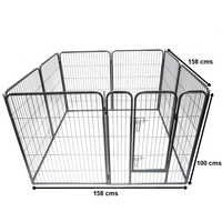 strong heavy duty square tube pet playpen Exercise pen manufacturer