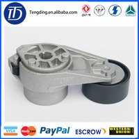 D5010550335 model number,Dongfeng tianlong Renault engine belt tension wheel assembly for sale
