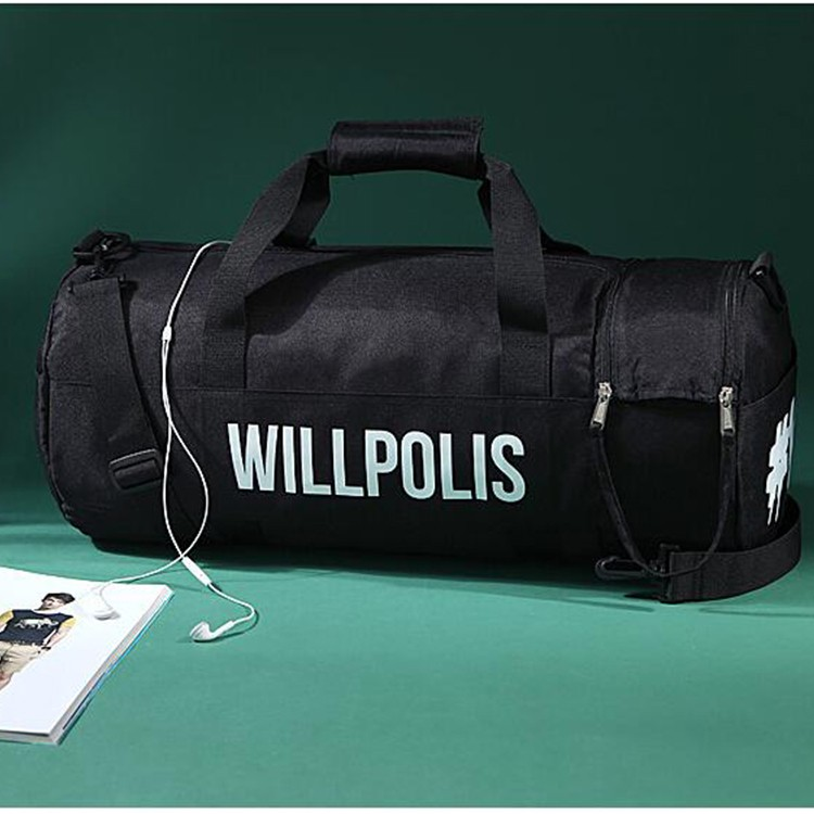 Hot Sale fashion sports foldable duffel travel luggage bag