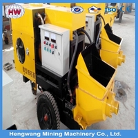 Factory price mini concrete pump and concrete machine - hengwang