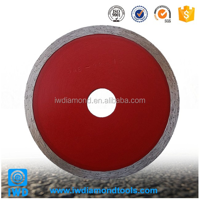 Best Sales in Alibaba Super Thin Continuous Rim Tile Blade Diamond Saw Blade for Glass Cutting