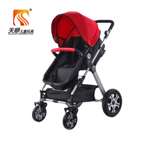8 wheels cool pink baby stroller for summer-manufacturer