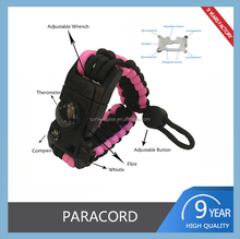 YUZEX Cheaper Paracord Parachute Cord Survival Bracelet for Sale
