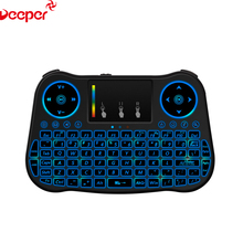 Best Airmouse MT08 Keyboard Backlit 2.4G Wireless Air Mouse For Tv