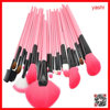 YASHI Brush pro 24pcs makeup brush for white and pink color