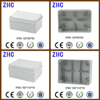 NEW large IP65 Weatherproof Plastic Connection Box Junction Box