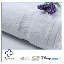 Luxury White Bath Towels Suit, 100 % Cotton Bath Towel Guangzhou