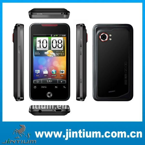 Android2.2 A9 mobile phone 3.5inch multi-touch Camera GPS WIFI G-sensor Unlocked Cellphone