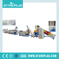 MPE series Waste PP PE Plastic Film cleaning washing recycling line