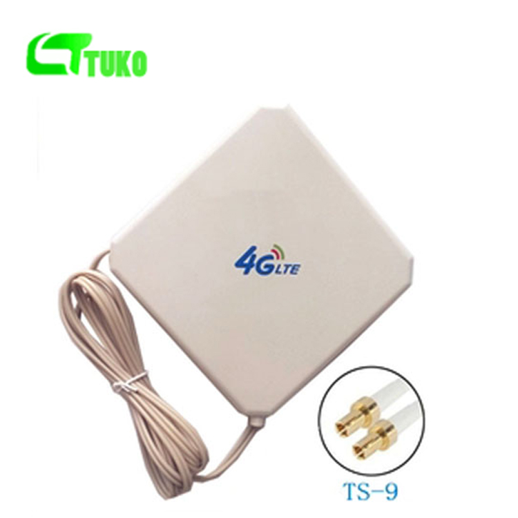 Wholesale 4g long range signal booster LTE Mobile WiFi router Antenna with TS9 Connector for huawei e392