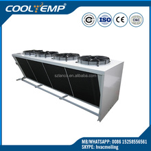 Air Cooled Industrial Cold Room Condenser With V Type Condenser Coils