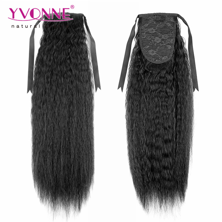 Top quality fashionable human hair pony tail