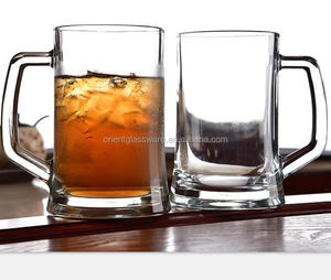 wholesale 21oz 650ml glass beer mug