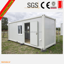 Flat pack container house cabin 20ft