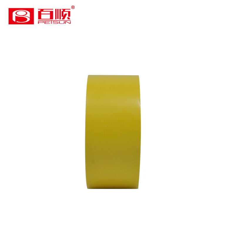 Single sided selfadhesive pvc rohs approved electrical tape for floor marking