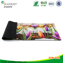 No smell natural rubber material floor /door mat customized