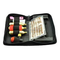 Emergency Tubeless Flat Tire Repair Kit, Small Heavy Duty T-handle Tire Repair Tools