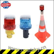 Hot Sale Portable Warning Solar Traffic Cone Light