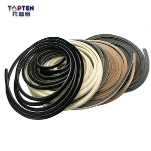 Good quality aluminum window weather strip wool pile seal sunroof weather strip