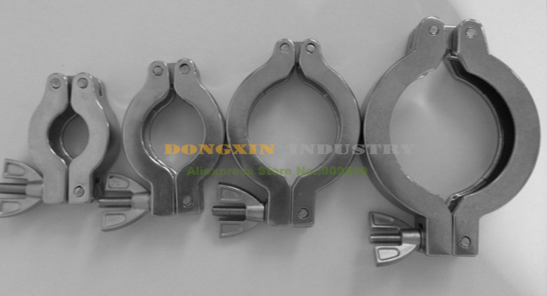 5pcs/lot Aluminum KF50 Clamp For Vacuum pump and other Vacuum adapter