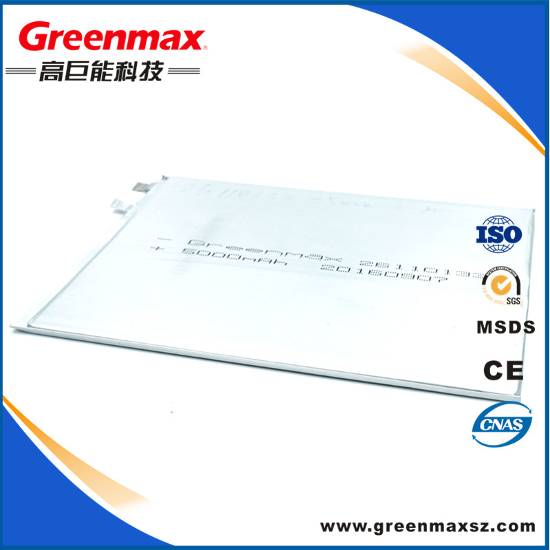 Factory directly selling IEC UN standard lithium polymer battery 3.7v with 4000mah
