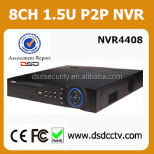 Dahua 1.5u onvif nvr supported h 264 dvr firmware DH-NVR4408 CCTV Security dahua 8ch standalone nvr