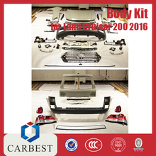 High Quality New 2016 Toyota Land Cruiser Body Kit For 2016 Landcruiser 2012-2016