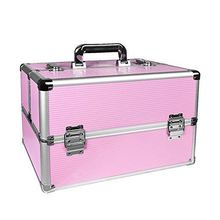 RL Professional Portable Travel luxury Makeup Bag cosmetic train Case