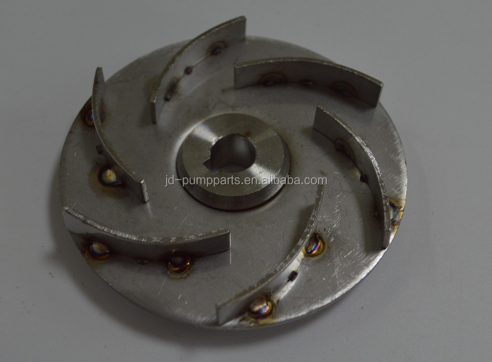 Stainless steel welding impellers for SCM63# sereis centrifugal pump