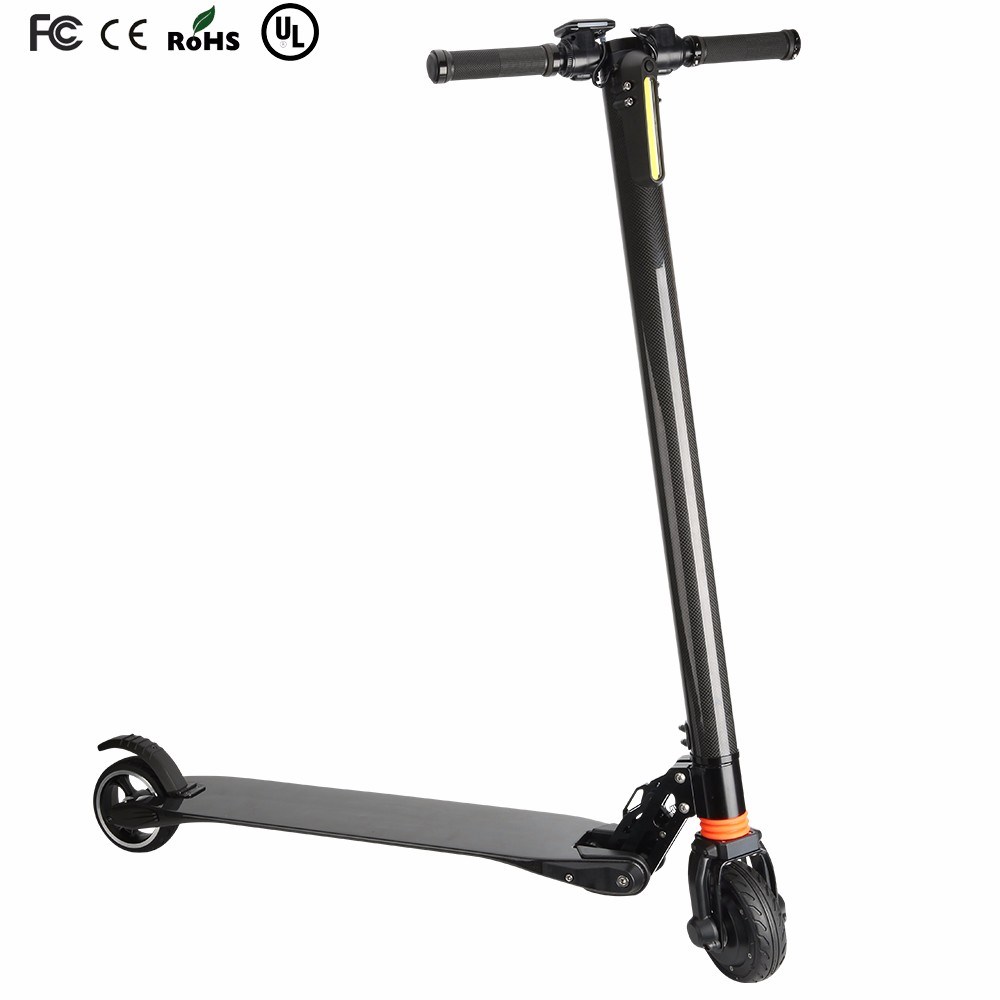 Newest shock absorption design carbon fiber <strong>electric</strong> custom scooters for sale