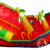 Neverland Toys red pirate inflatable slide inflatable bouncy castle for kids