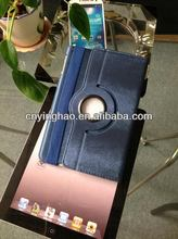 Contemporary antique dual-stand leather case for iPad mini