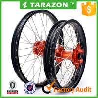 Whole Set Front and Rear Aluminium Motorcycle Rim and Hub Wheel For KTM