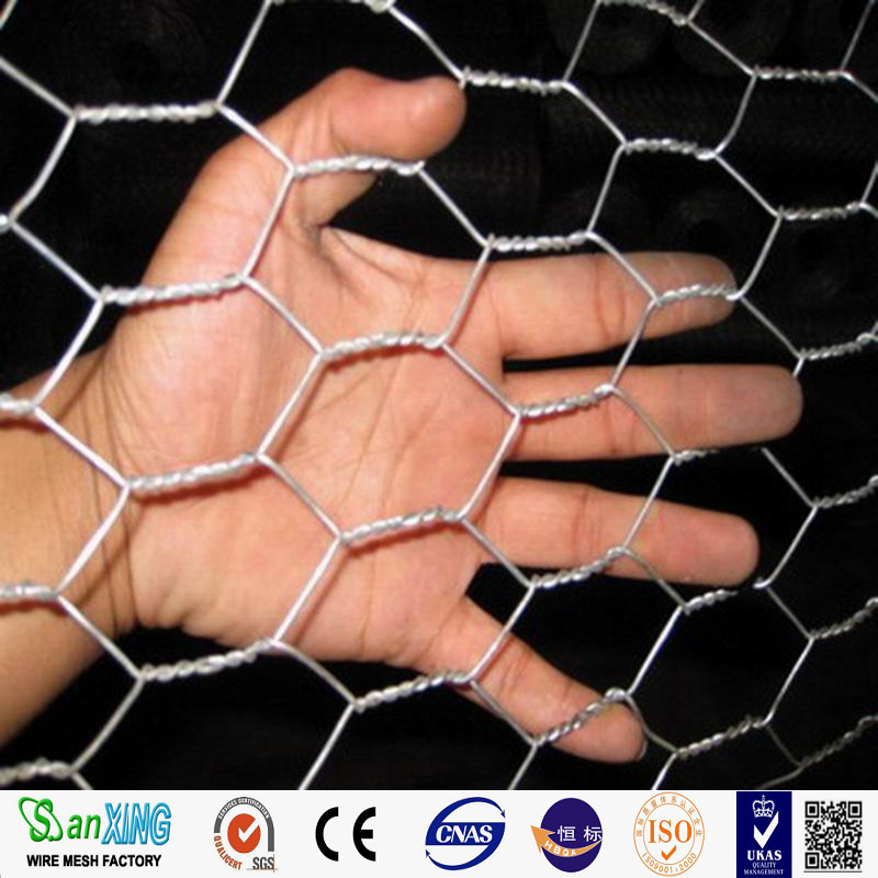 elelctro galvanized hexagonal decorative chicken wire mesh