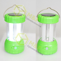 High Lumens 8 SMD LED Rechargeable Solar camping lantern