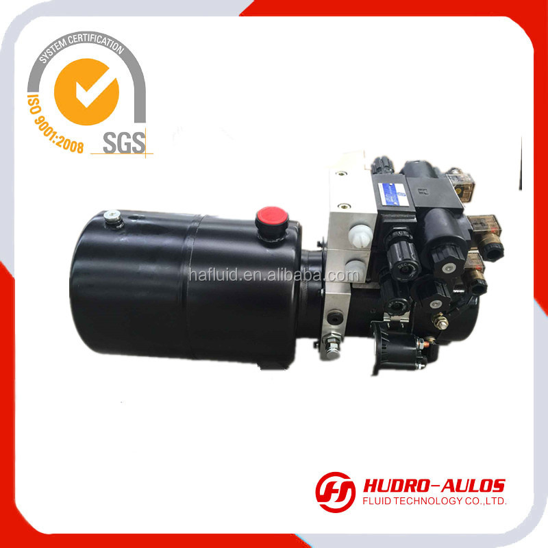 12VDC hydraulic power unit hydraulic power pack for car lifter scissor lifter