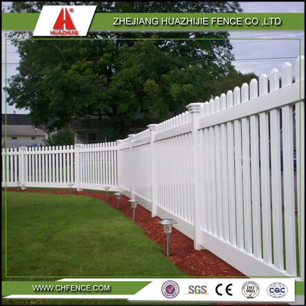 pvc plastic picket animal fence
