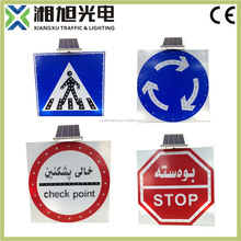 Good quality emergency lighting symbols led flashing traffic warning sign