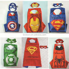 Wholesale kids Halloween costumes for sale Children superhero cape masks