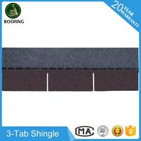 Professional 3-Tab roof sheet,building material asphalt shingleswith great price