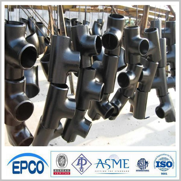 ASTM B16.9 SEAMLESS FINE-QUALITY 5 INCH SCH 80 PIPE TEE