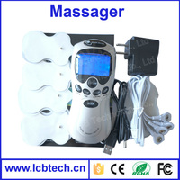 Digital Therapy Machine Electric slimming body massager products TENS Units digital Laser therapy machine with 4 pad