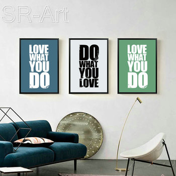 Canvas Painting Modern Minimalism Cool Letter Wall Art Painting Canvas Poster Prints Wall Pictures Bathroom Home Decor