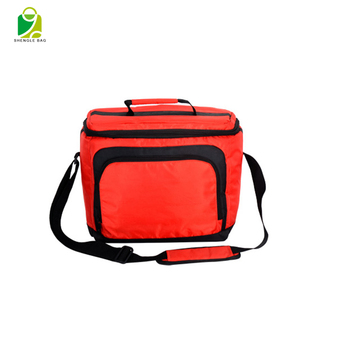 Outdoor children promotional insulated picnic polyester food cooler bag