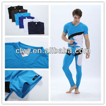 Underwear Wholesale, Nylon Mesh Color Matching Winter Long Johns