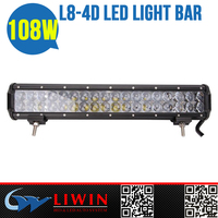 Liwin brand High power 108W lw off road lights for Spyker auto off brand atvs automobile lamps 4d lens led lightbar